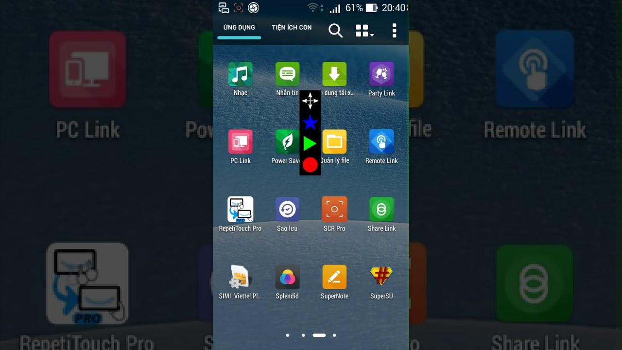 Phần mềm auto click cho Android, IOS và Symbian (lặp lại hành động) – MC