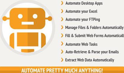 Winautomation - Tự động hóa công việc trên Windows