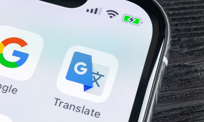 Share google translate code by PHP