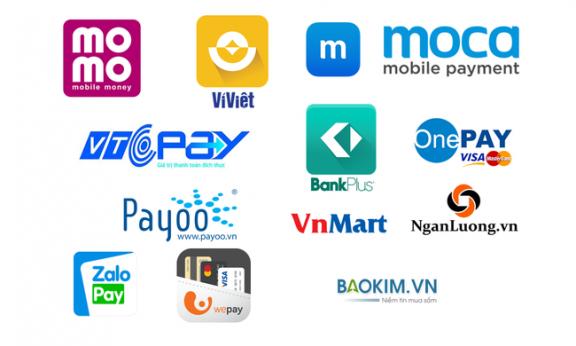 Ví điện tử phổ biến tại Việt Nam hiện nay