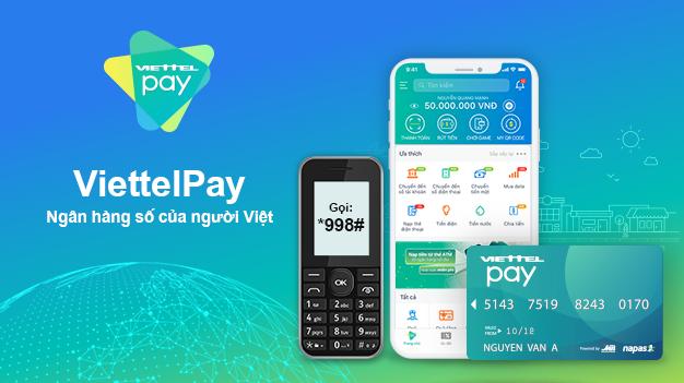 Ví điện tử số 2 về chuyển tiền liên ngân hàng là Viettelpay