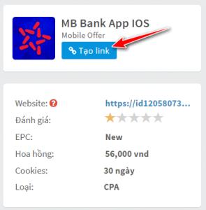 Tạo link giới thiệu cho người dùng IOS