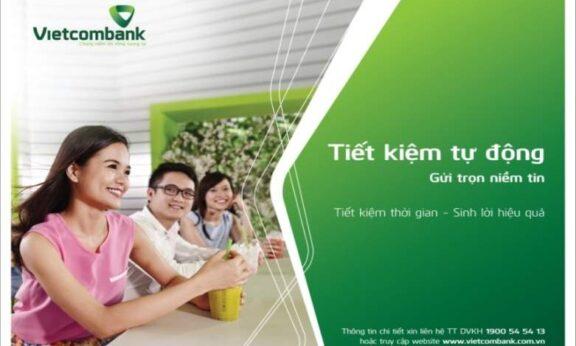 Cách gửi tiết kiệm vào ngân hàng VCB