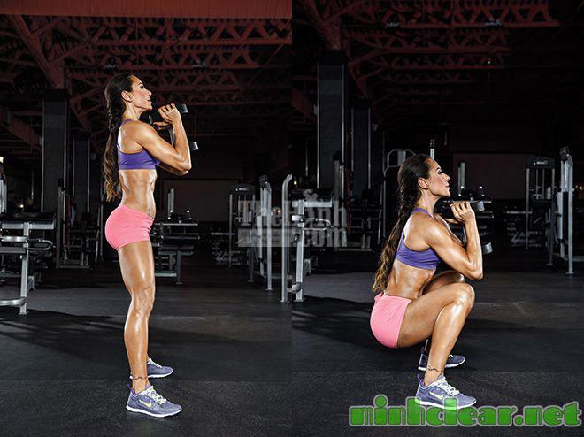 Globet squat